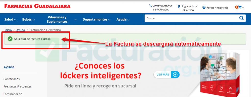 Farmacias guadalajara PASO 4. Descarga tu Factura Farmacia Guadalajara