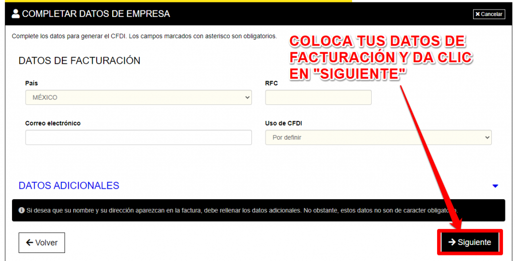 Forever 21 PASO 4