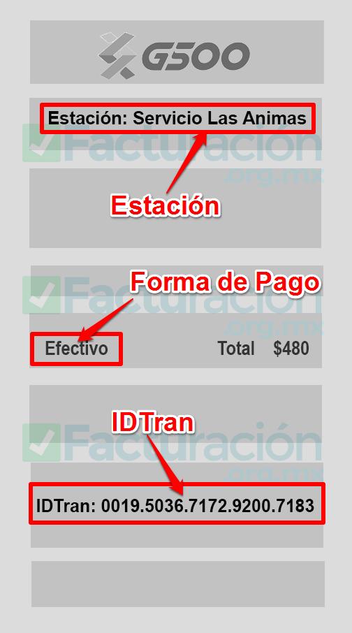 G500 PASO 1. Encuentra los datos en tu ticket G500 Network