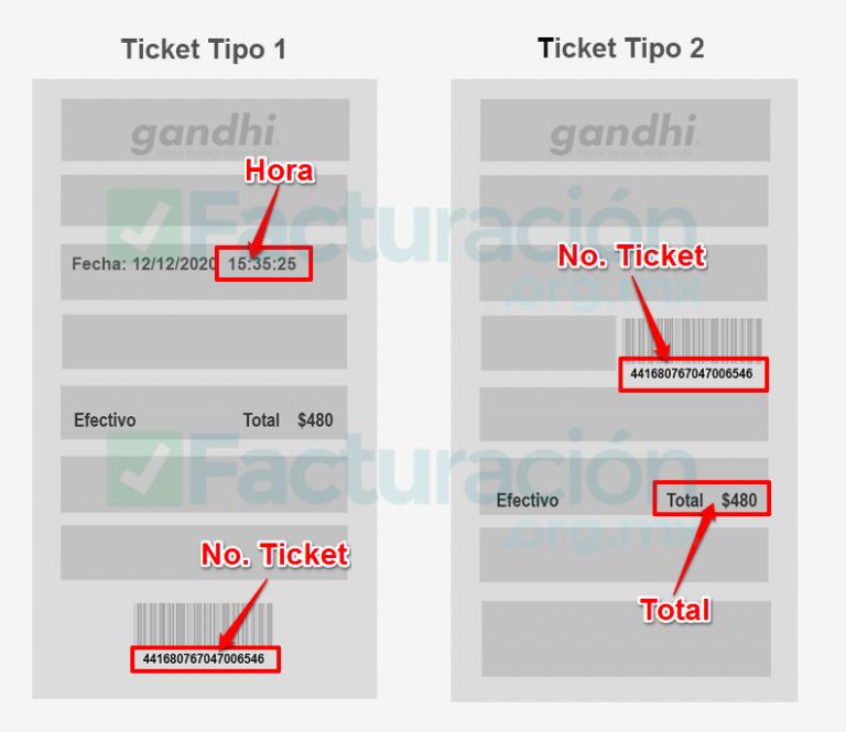 Gandhi PASO 1. Identifica el tipo de ticket y el número de ticket