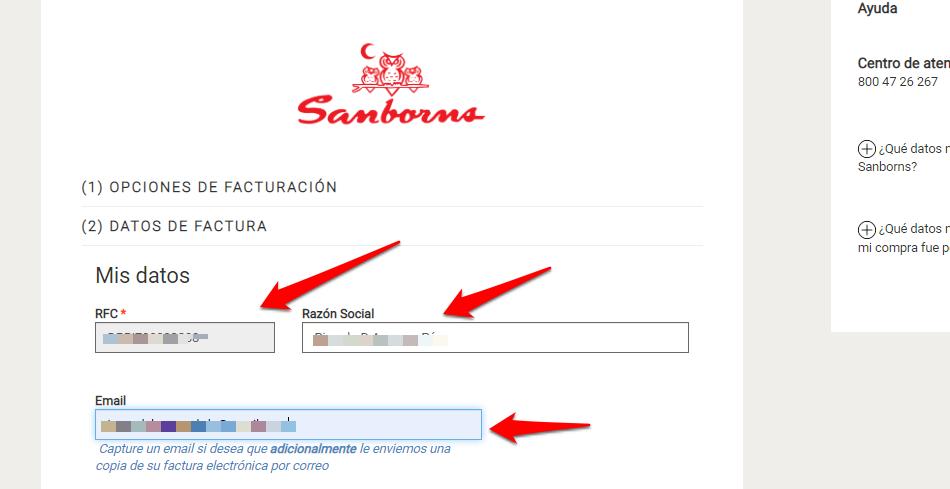 Sanborns PASO 4