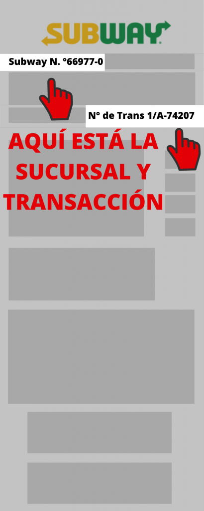 Subway PASO 1