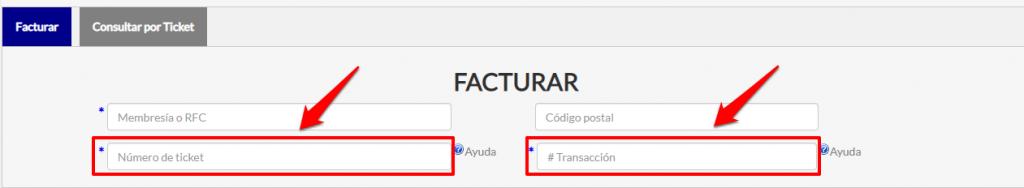 Superama PASO 2 Coloca los datos del ticket de compra