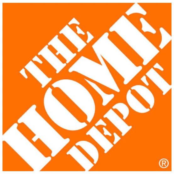 The home depot facturación logo